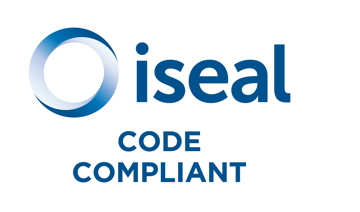 ISEAL Code Compliant