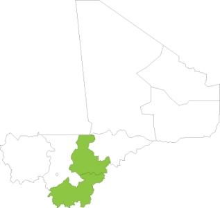 Mali map 2014