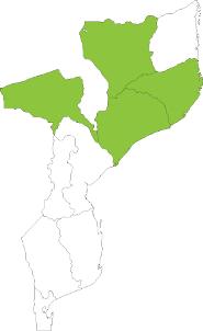 Mozambique map 2014