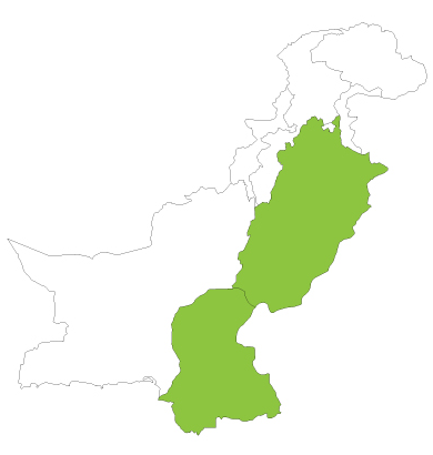 Pakistan map 2014