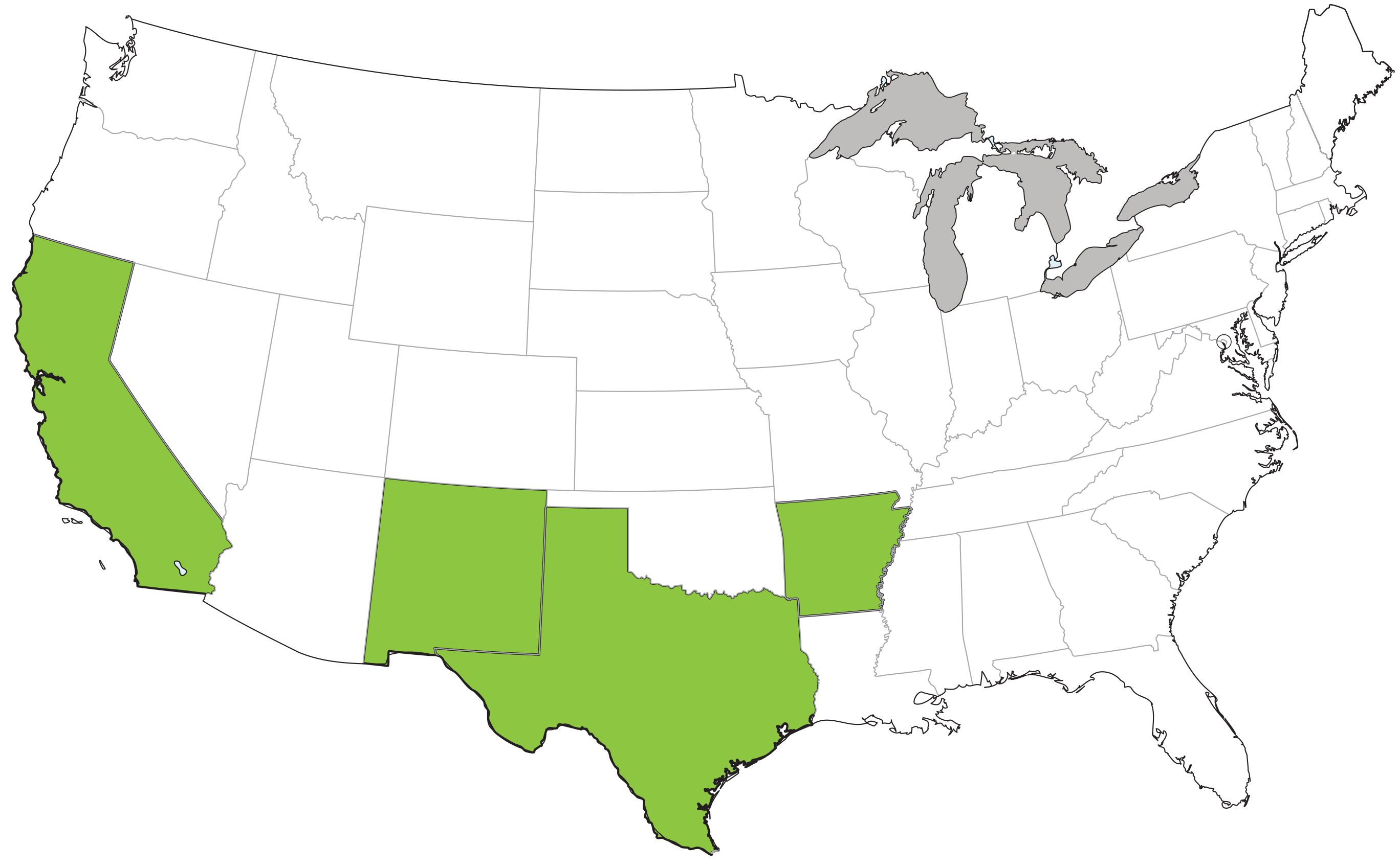 usa map for website