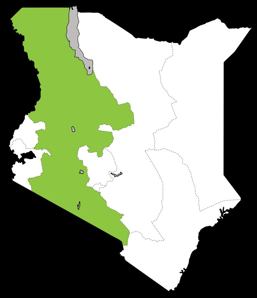 kenya map for website