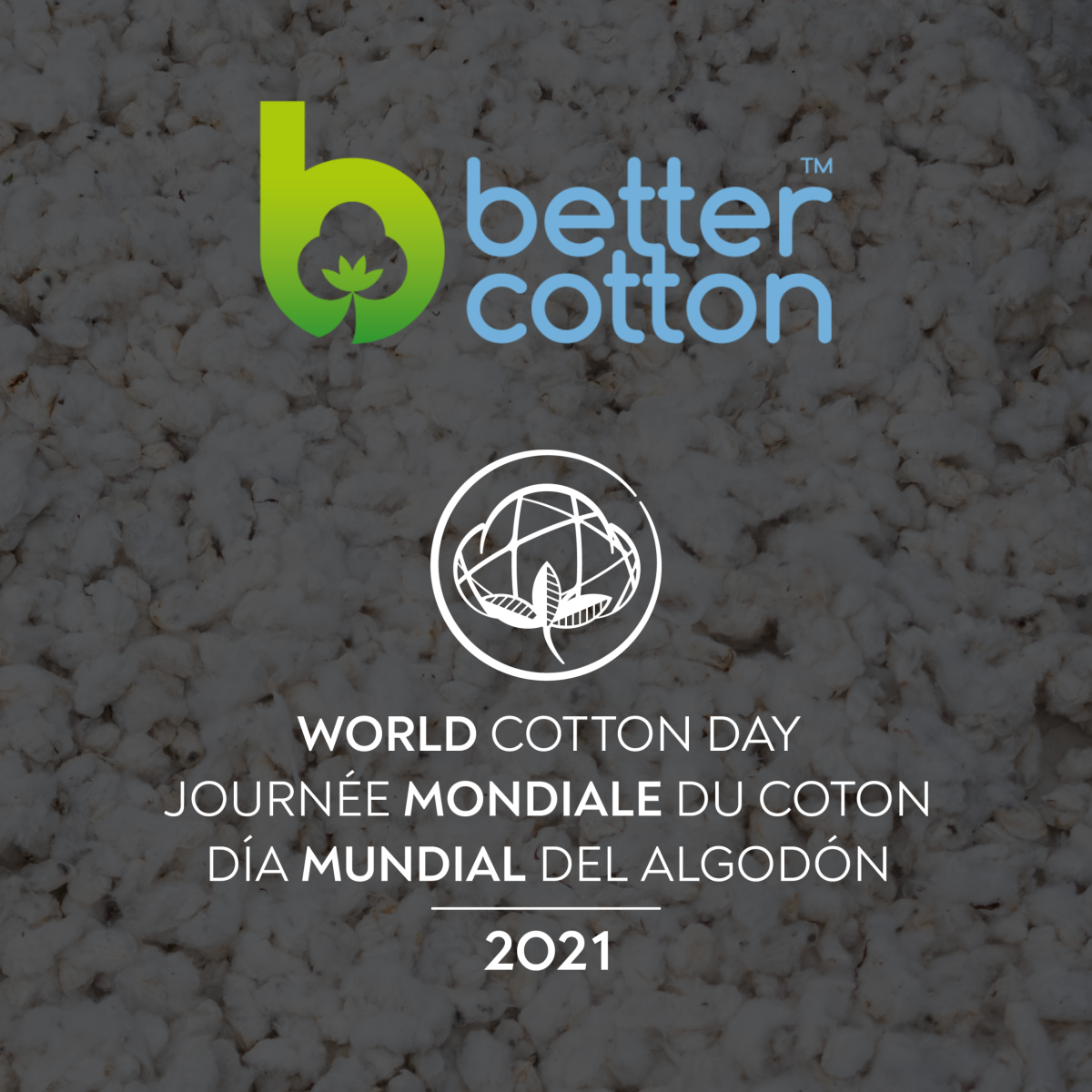 World Cotton Day and Better Cotton logos